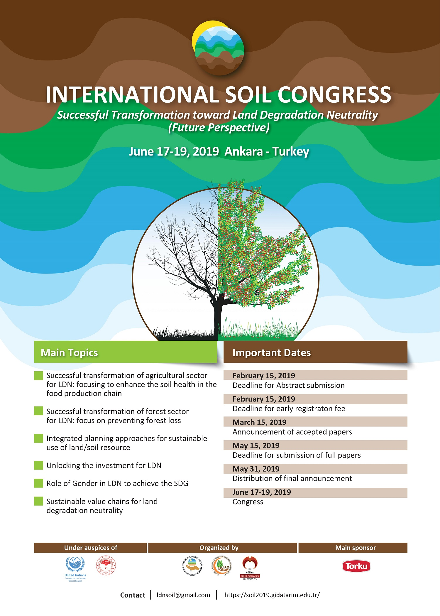 "The International Conference on ""Successful Transformation toward Land Degradation Neutrality (Future Perspective)"""
