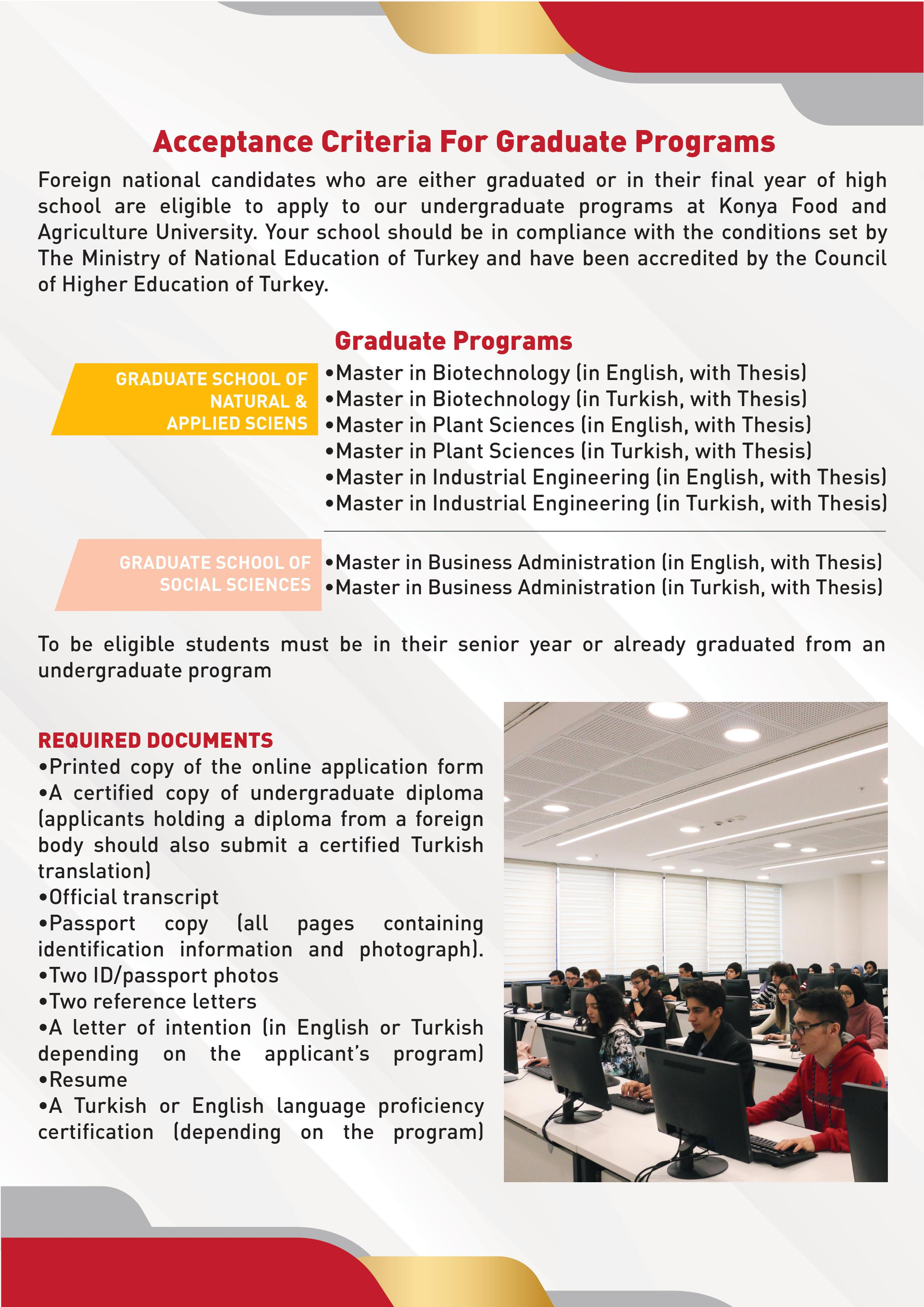 Information Package for International Students