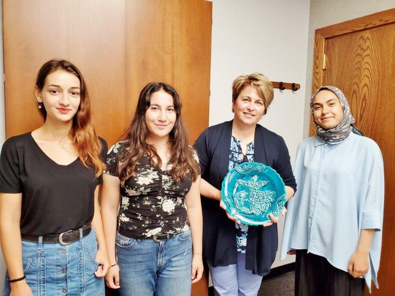 Michigan State Üniversitesi'nde Araştırma Faaliyetlerinde Bulunan Öğrencilerimiz Üniversitemize Döndü