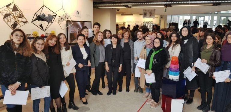 """İç Mimarlık Bölümü Akademisyenlerimiz ve Öğrencilerimiz """"Design Campus/Unification İstanbul"""" Etkinliğine Katıldı"""