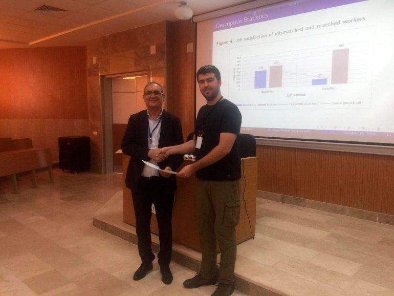 Ekonomi Bölümü Araştırma Görevlimiz Mustafa Özsarı Türkiye Ekonomi Kurumu ve Çukurova Üniversitesi'nin Adana'da düzenlediği