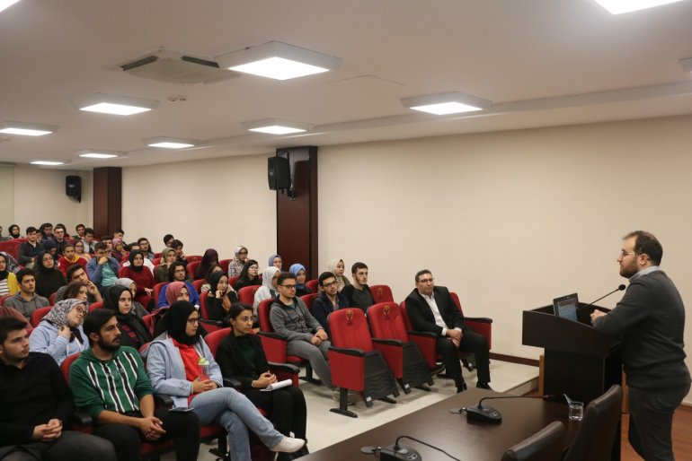 """Kariyer Merkezimiz ve Teknoloji Transfer Ofisimiz (TTO ) İşbirliği ile Düzenlenen """"KGTÜ Öğrenci İş Fikirleri Ve  Projeleri Destek Faaliyetleri Bilgilendirme """" Etkinliği Gerçekleştirildi"""
