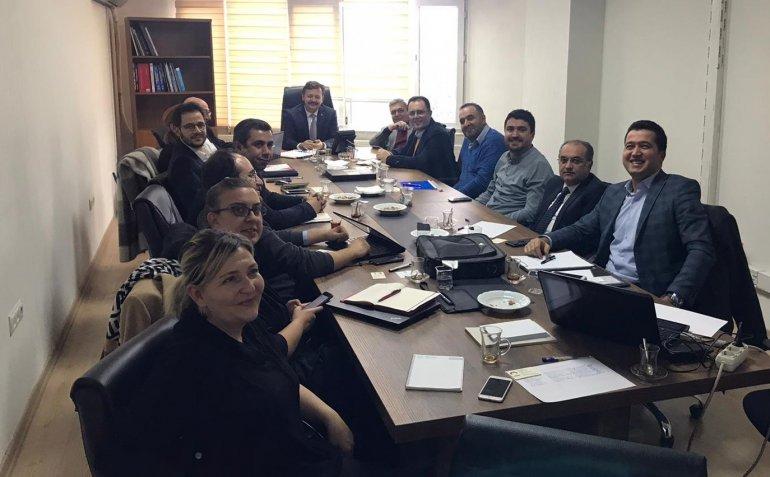 Üniversitemiz Temsilcileri Kamu-Üniversite-Sanayi İşbirliği (KÜSİ) Toplantısına Katıldı