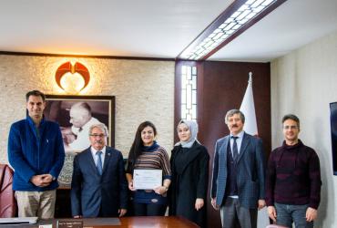 KGTÜ SARGEM Tarafından Verilen Hijyen Eğitimi Kapsamında Üniversitemizde Sertifika Töreni Düzenlendi