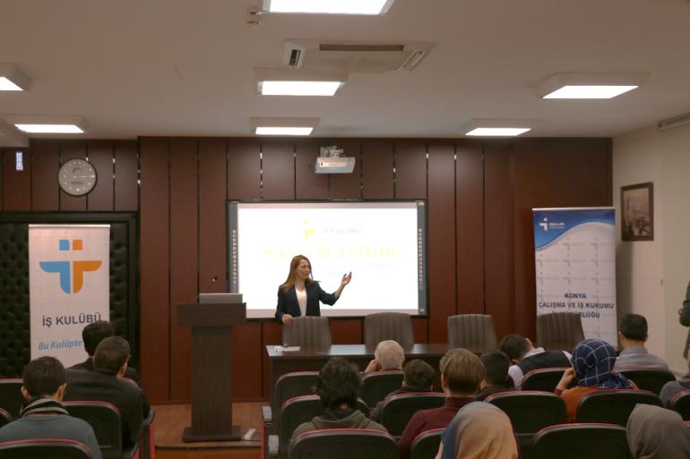 KGTÜ Kariyer Merkezi Tarafından Organize Edilen İŞKUR İş Kulübü Tanıtım Etkinliği Gerçekleştirildi