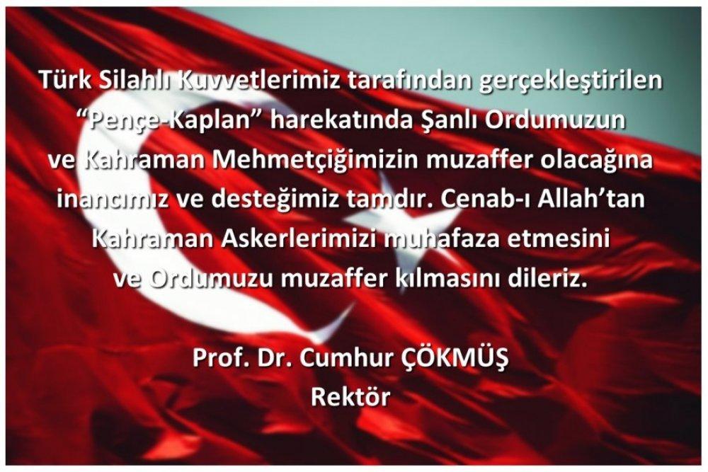 Türk Silahlı Kuvvetleri Tarafından Gerçekleştirilen