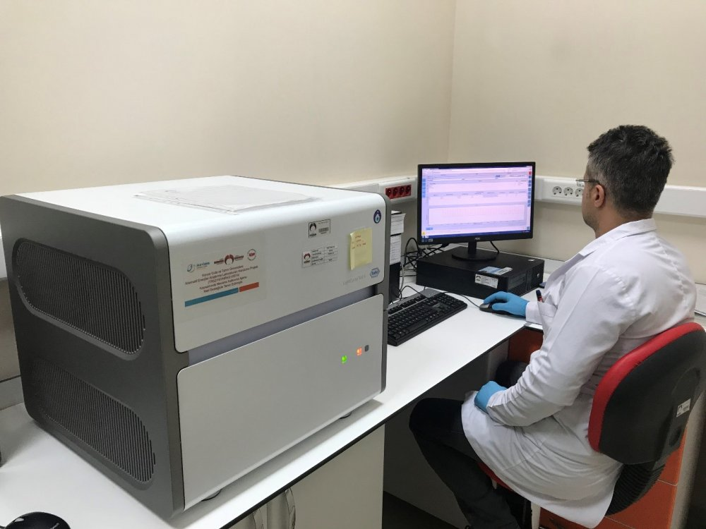 Konya Gıda ve Tarım Üniversitesinden Konya İl Sağlık Müdürlüğüne Covid-19 Tanı Cihazı (RT-PCR) Desteği