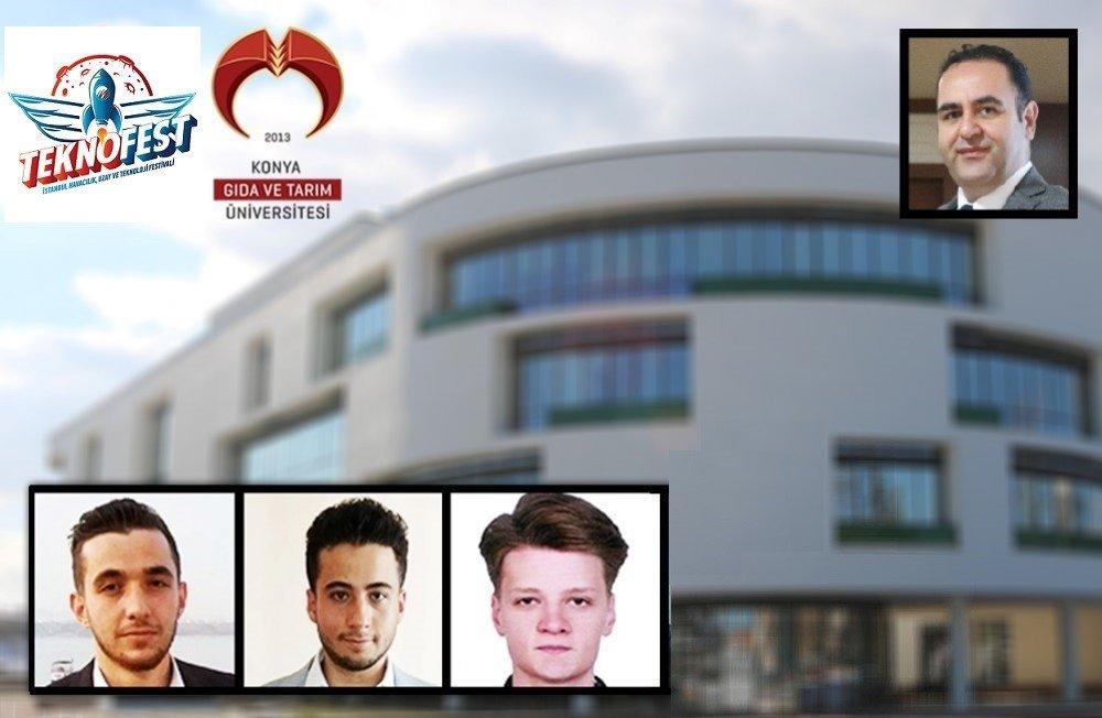Öğrencilerimiz İrfan Çözge, Mustafa Küçükdemirci ve Rıdvan İnal, TÜBİTAK 2242 Üniversite Öğrencileri Araştırma Projeleri Bölge Yarışmasında 1. Olarak TEKNOFEST 2020 Final Yarışmasına Katılmaya Hak Kazandı