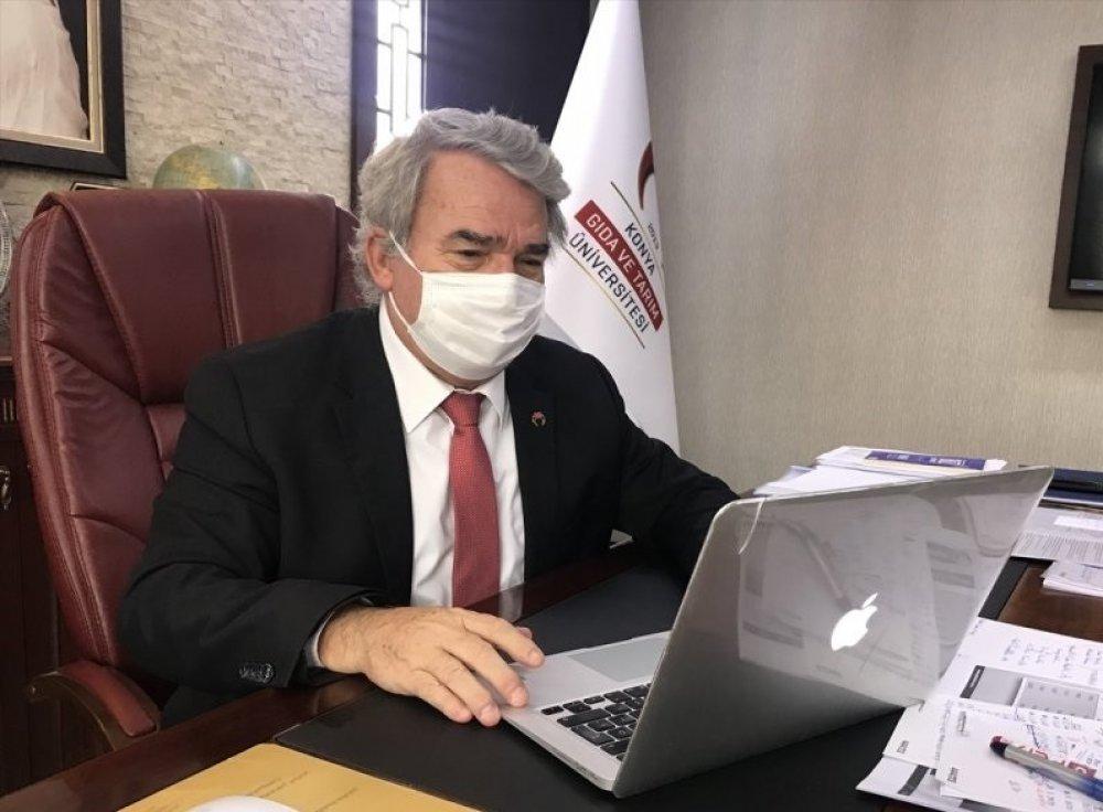 Rektörümüz Prof. Dr. Cumhur Çökmüş Anadolu Ajansının (AA) Düzenlediği