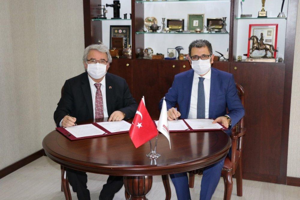 Konya Gıda ve Tarım Üniversitesi ile Konya Çalışma İş Kurumu (İŞKUR) İl Müdürlüğü arasında ''İŞKUR Kampüs Protokolü'' İmzalandı