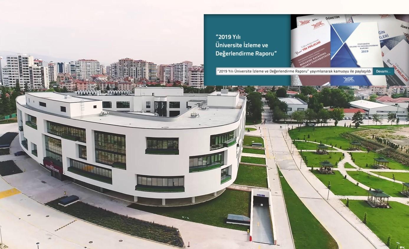 Konya Gıda ve Tarım Üniversitesi YÖK Tarafından Açıklanan 2019 Üniversite İzleme ve Değerlendirme Raporunda 8 Farklı Kategoride Ülkemizdeki İlk 10 Vakıf Üniversitesi İçerisinde Yer Aldı