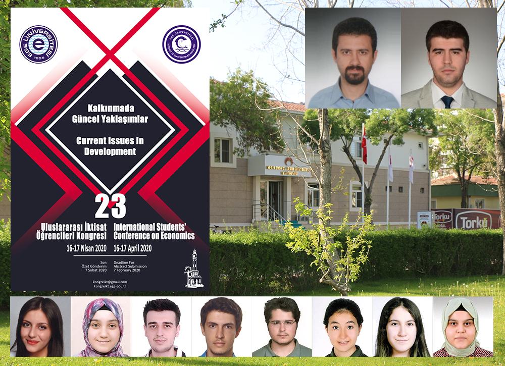 Sosyal ve Beşeri Bilimler Fakültesi Öğrencilerimiz 23. Uluslararası İktisat Öğrencileri Kongresi'nde Sunulacak İngilizce Bildiri Sayısı Bakımından İlk Sırada Yer Aldı
