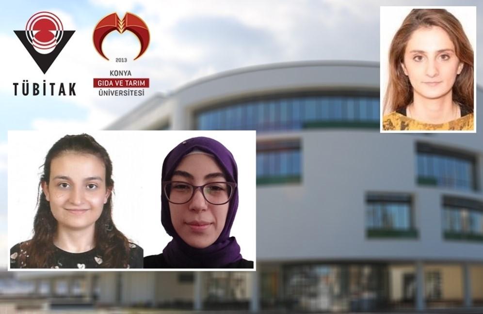 """Moleküler Biyoloji ve Genetik Bölümü Öğrencilerimiz Özge Can ve Zeynep Demirsoy'un Projesi """"TÜBİTAK 2209-A Üniversite Öğrencileri Araştırma Projeleri Destekleme Programı"""