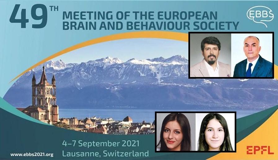 """Ekonomi Bölümü Öğrencilerimiz Merve Yağlıcı ve Şevval Buse Sarıman'ın Mezuniyet Projesi Dersi Kapsamındaki Araştırma Çalışmaları """"49th Meeting of the European Brain and Behaviour Society"""" Konferasında Sunulmak Üzere Kabul Edildi"""