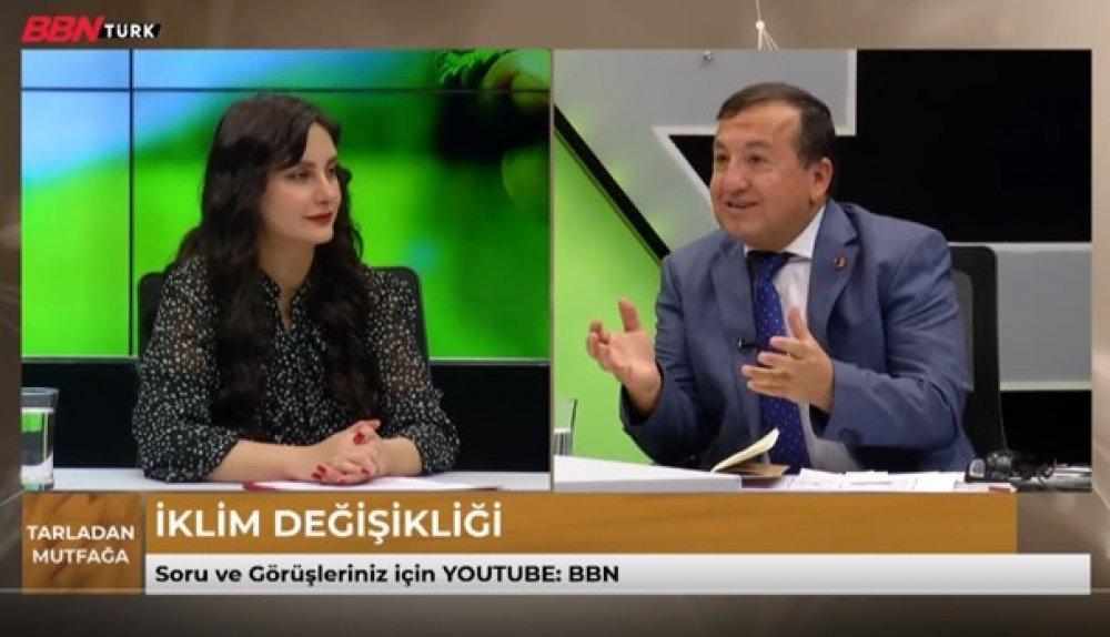 """Genel Sekreter Yardımcımız Namık Ceyhan BBN Türk Kanalında Yayınlanan """"Tarladan Mutfağa"""" Programına Konuk Oldu"""
