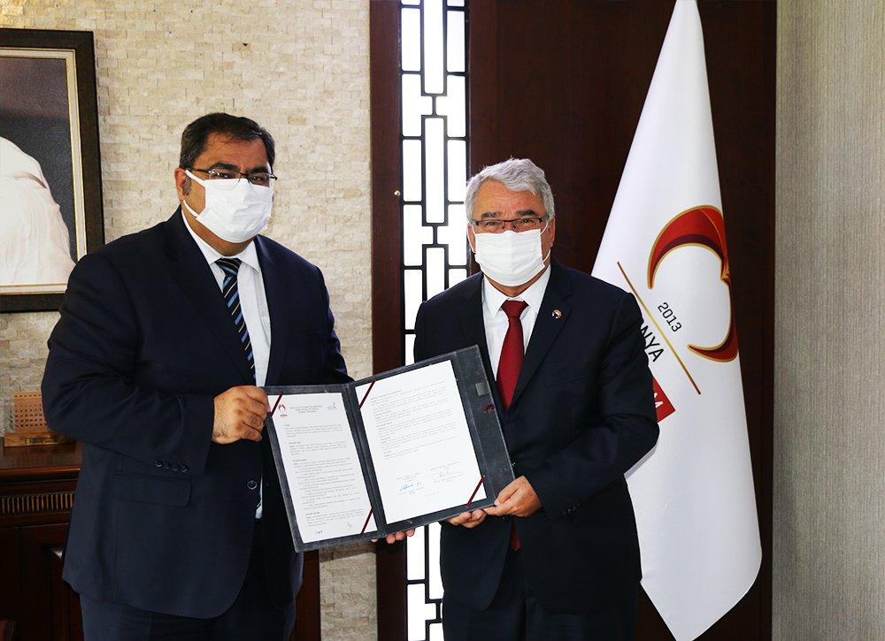 Üniversitemiz ile Gebze Teknik Üniversitesi Arasında İşbirliği Protokolü İmzalandı