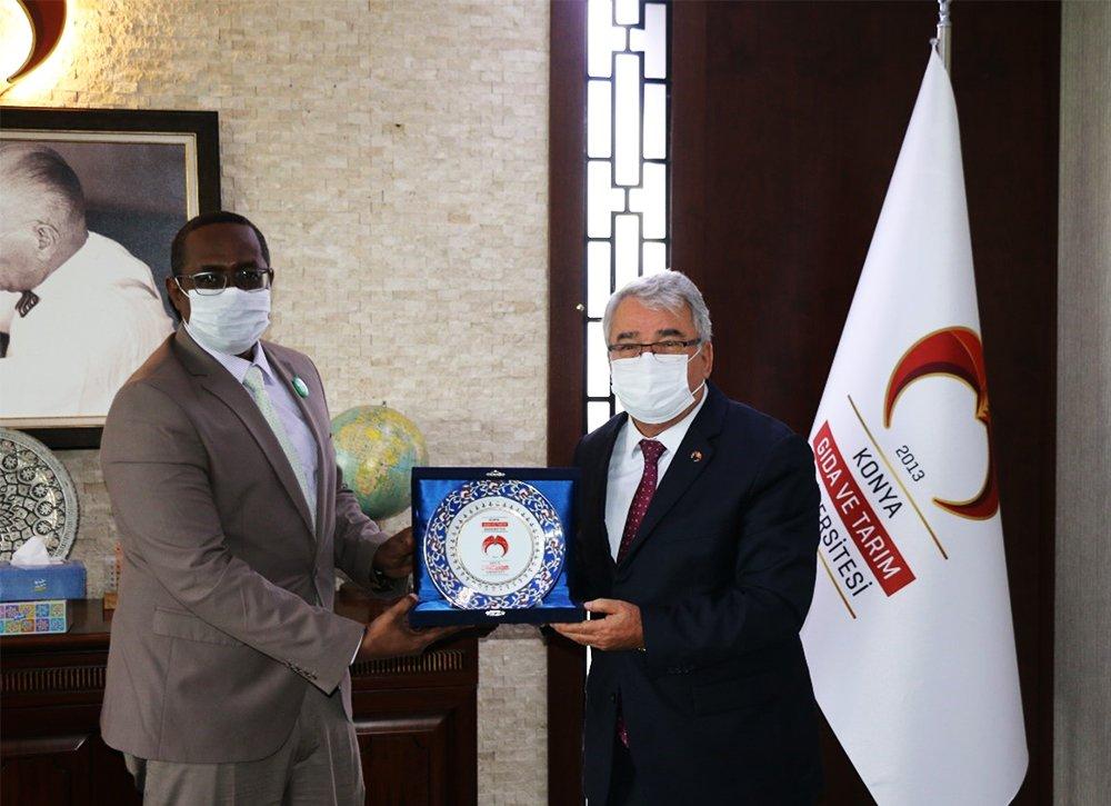 Üniversitemiz ile Somali Harmuud Üniversitesi Arasında İşbirliği Protokolü İmzalandı