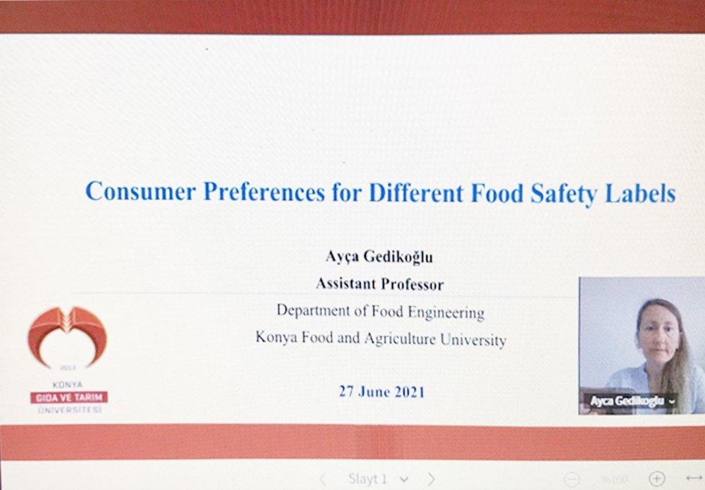 Mühendislik ve Mimarlık Fakültesi Dekan Yardımcımız Dr. Öğr. Üyesi Ayça Gedikoğlu 4. Uluslararası GAP Gıda, Tarım ve Veteriner Bilimleri Kongresine Katıldı