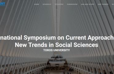 Toros Üniversitesi'nin Ev Sahipliğinde, Üniversitemizin de Ortaklığıyla Düzenlenen ISCANT 2021 (International Symposium on Current Approaches & New Trends in Social Sciences) 24-25 Haziran Tarihlerinde Gerçekleştirildi