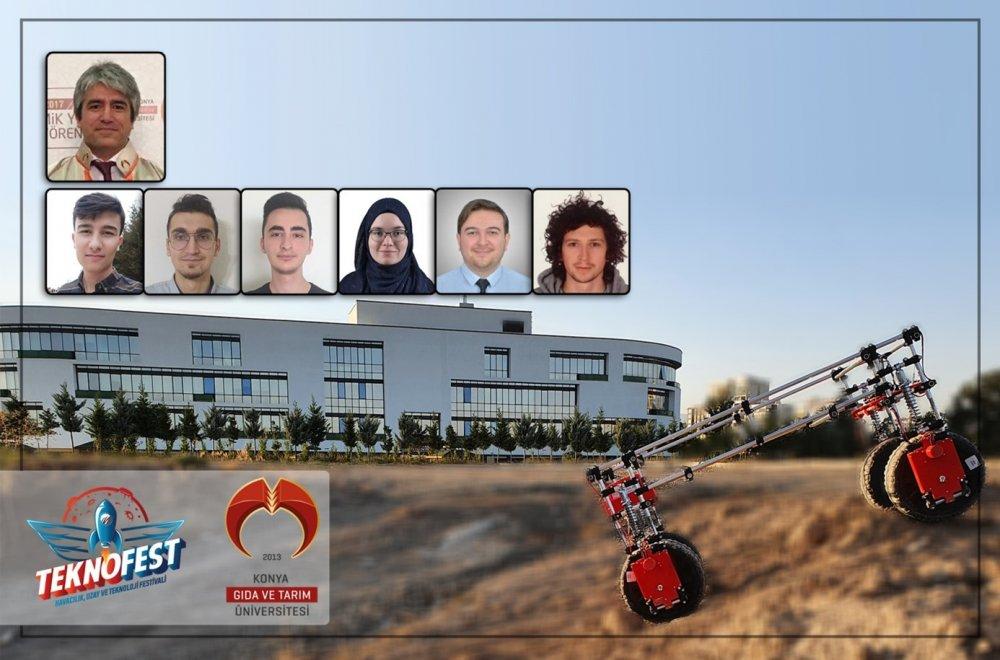 Öğrenci Takımımız Tarus TEKNOFEST Tarımsal İnsansız Kara Aracı Yarışmasında İstanbul'da Gerçekleştirilecek Finallere Katılmaya Hak Kazandı