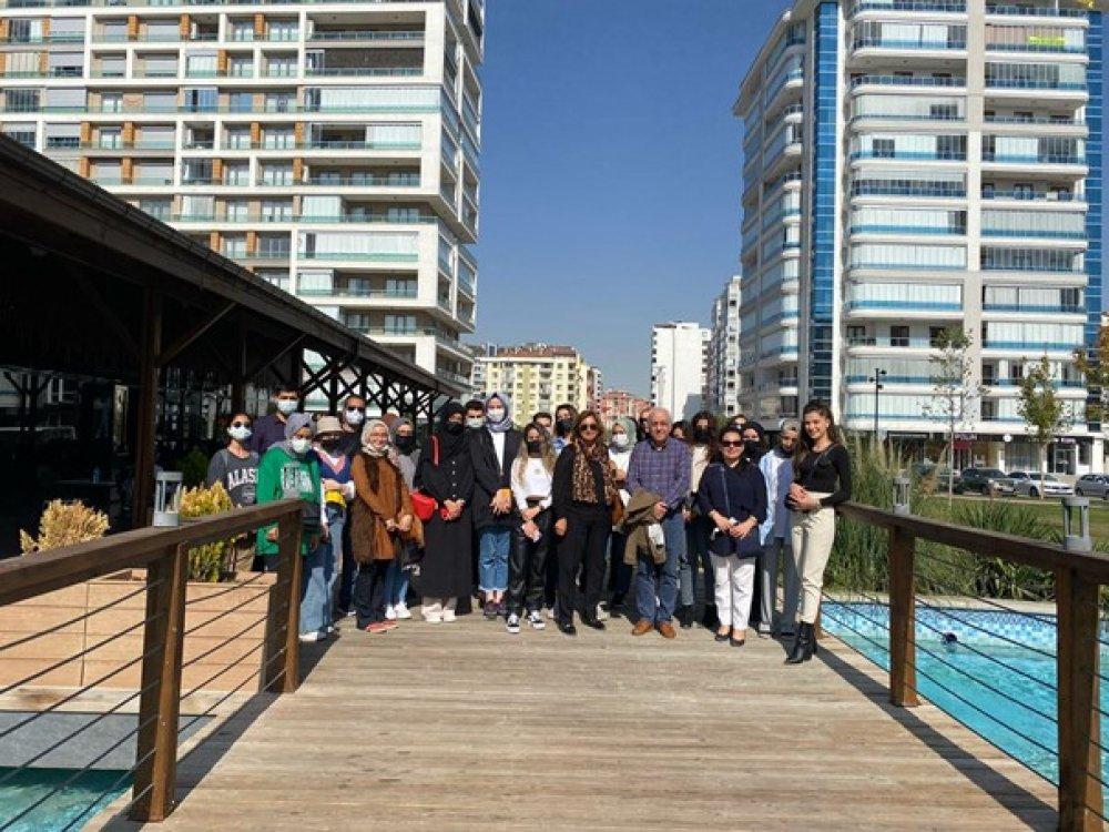 İç Mimarlık Bölümü Proje-II ve Proje-III Dersi Kapsamında Teknik Gezi Düzenlendi